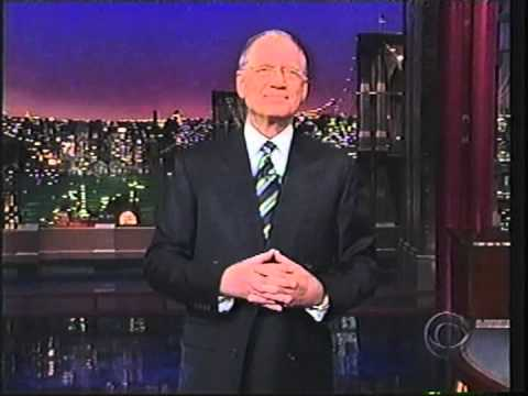 """Opening to the """"Late Show"""" with David Letterman"""
