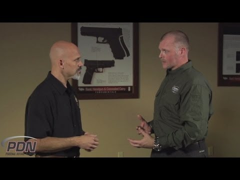 firearm - Personal Defense Tips: Firearms Training - Rob Pincus and Jay White discuss the responsible storage of a defensive firearm inside their home for efficient ac...