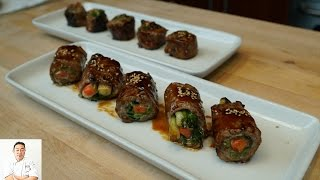 Negamaki - How To Make Series by Diaries of a Master Sushi Chef