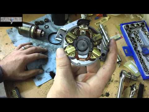 how to fix / clean your starter save money rebuild it your self