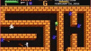 Dark Chambers: Standard (Atari 7800 Emulated) by oyamafamily