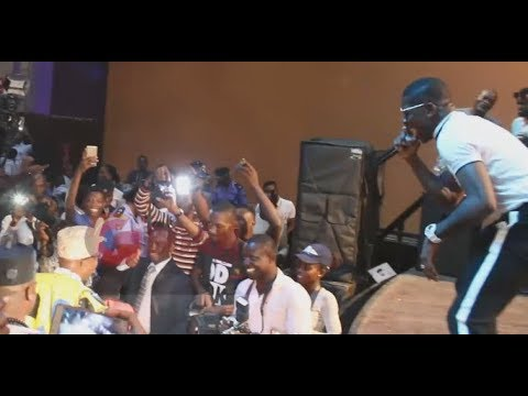 """Small Doctor Sings His Mad Jam """"Penalty"""" As Olu Iwo Of Iwo Land Dances Majestically"""
