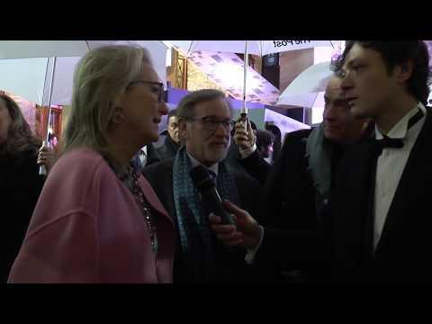 The Post - Intervista a Meryl Streep, Tom Hanks e Steven Spielberg - Premiere Italiana