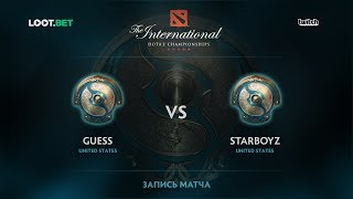 Guess vs Starboyz, Part 1, The International 2017 NA Qualifier