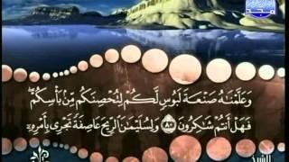 المصحف المرتل 17 للشيخ محمد صديق المنشاوي رحمه الله HD