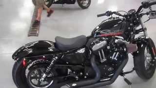 10. 2011 HARLEY DAVIDSON SPORTSTER XL1200X FORTY-EIGHT @ iMotorsports 9963