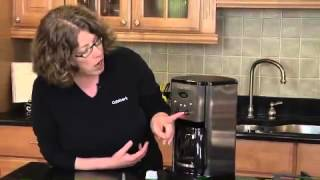 Brew Central™ 12 Cup Programmable Coffeemaker Demo Video Icon