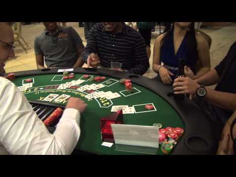Casino Night 2013 – BIG Blackjack win!