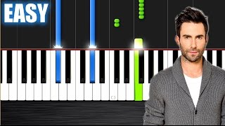 R. City - Locked Away ft. Adam Levine - EASY Piano Tutorial  Ноты и М�Д� (MIDI) можем выслать Вам (S