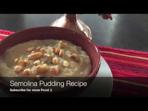 Quick Tasty Semolina Pudding Recipe | Easy Cream Of Wheat Dessert Recipe
