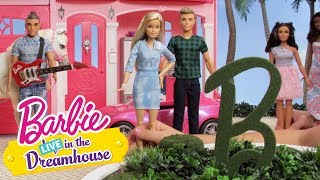 The new-ish series, Barbie LIVE in the Dreamhouse, premieres on July 8th right here on YouTube! Barbie LIVE in the Dreamhouse is back with the official season trailer! Barbie, Ken, Chelsea and all their friends are more fabulous and fashion-forward than ever.  Are you ready for this fun series? Watch all your favorite Life in the Dreamhouse episodes over again, with a twist!About Barbie:For over 57 years, Barbie has led girls on a path to self-discovery and helped them to imagine the possibilities. After over 180 inspirational careers, Barbie—along with her friends and family—continues to inspire and encourage the next generation of girls that they can be anything. Connect with Barbie Online:Visit the official Barbie WEBSITE: http://bit.ly/BarbieWebsiteLike Barbie on FACEBOOK: http://po.st/Barbie_FBFollow Barbie on TWITTER: http://po.st/Barbie_TwitterFollow Barbie on INSTAGRAM: http://po.st/Barbie_InstagramOfficial Season Trailer  Barbie LIVE! in the Dreamhouse  Barbiehttps://www.youtube.com/user/barbie