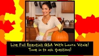 LIVE EVENT: Fall Essentials with Laura Vitale