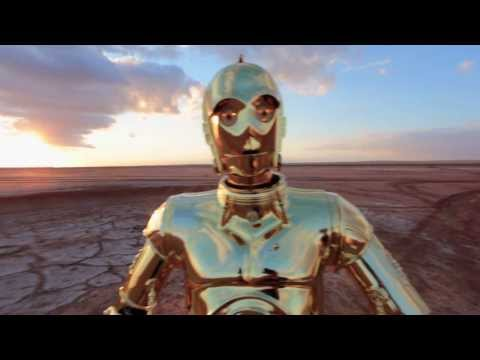 Star Wars characters dancing to