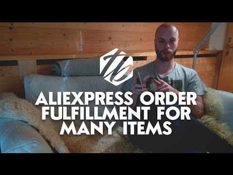 Aliexpress Order Fulfillment — How To Drop Ship A Large Quantity Of Items | #266