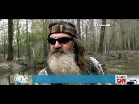 Duck Dynasty Phil Robertson A & E Suspension Lifted GLADD not pleased