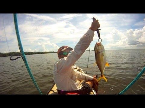 Kayak Fishing – Hutchinson Island Florida for Jacks – HD # 08