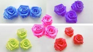 🌹How To Make Small Paper Roses - simplekidscrafts - simplekidscrafts