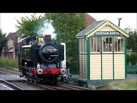 (HD) Pannier 9466 Breckland Fryer, Mid-Norfolk Railway, June 2017