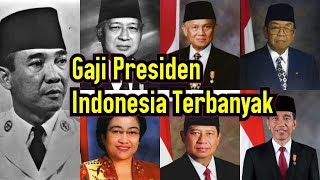 Download Video Daftar Gaji Presiden Indonesia dari Soekarno Sampai Jokowi MP3 3GP MP4