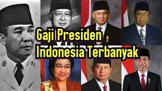 Video Daftar Gaji Presiden Indonesia dari Soekarno Sampai Jokowi MP3, 3GP, MP4, WEBM, AVI, FLV Februari 2019