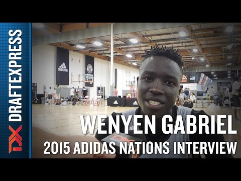 Wenyen Gabriel 2015 Adidas Nations Interview