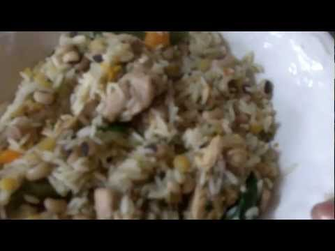 Caribbean Recipe: How to make a Delicious Chicken Cook Up Rice