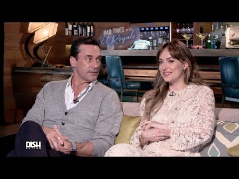 JON HAMM AND DAKOTA JOHNSON SPILL SECRETS AND MORE WITH THE CAST OF 'BAD TIMES AT THE EL ROYALE'