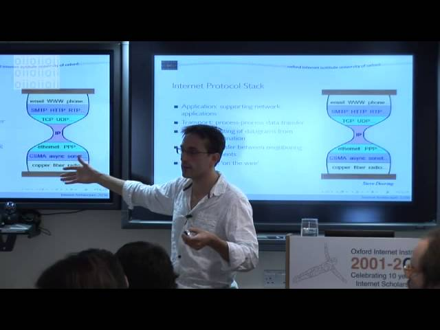 MSc Course on Internet Technologies and Regulation: Internet Architecture (1)