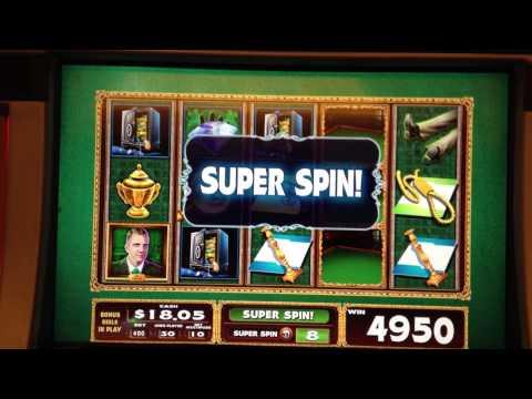 CLUE Slot Machine Bonus Billiard Room Super Spin – Big win! ~ WMS (Clue Slot Machine)