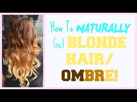 how to naturally lighten hair with lemon juice