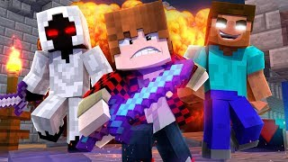 """•  """"WARZONE"""" - NEW Minecraft Music Video Song Parody"""