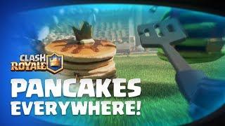 Clash Royale: Mini P.E.K.K.A - Pancakes Everywhere! 🥞 🥞 🥞 New Emotes!