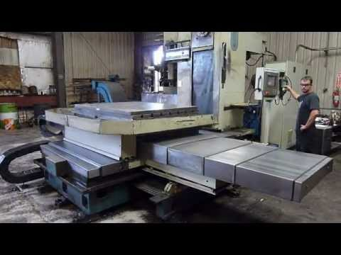 Olympia Engineering Mod. HT100x60 Five-Axis CNC Table Type Horizontal Boring Mill