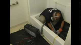 Comfort Walk in Tubs' Tub to Walk in Shower Conversion Video