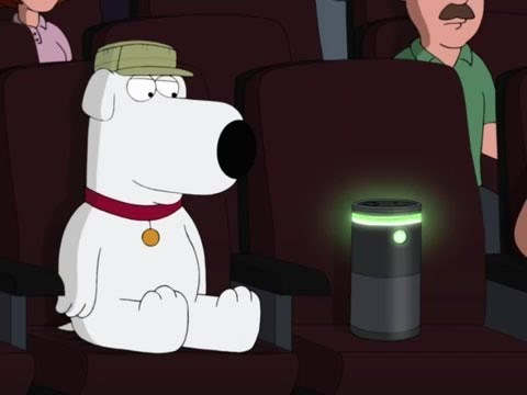 Family Guy Brian Takes Alexa To The Cinema
