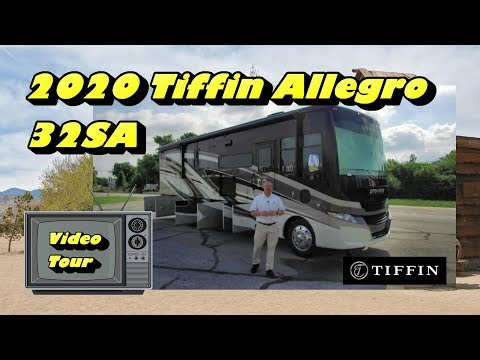 NEW 2020 Tiffin Allegro 32SA | Mount Comfort RV