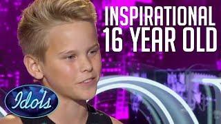Video INSPIRATIONAL TEENAGER AUDITION On American Idol | Idols Global MP3, 3GP, MP4, WEBM, AVI, FLV Maret 2018