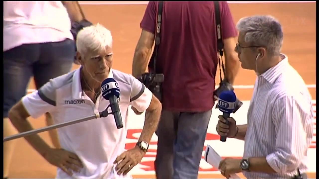 Δακρυσμένος ο Αγραπιδάκης για το πρωτάθλημα του Παναθηναϊκού | 12/07/2020 | ΕΡΤ