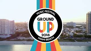 GroundUP Music Festival 2018 - Line UP announcement