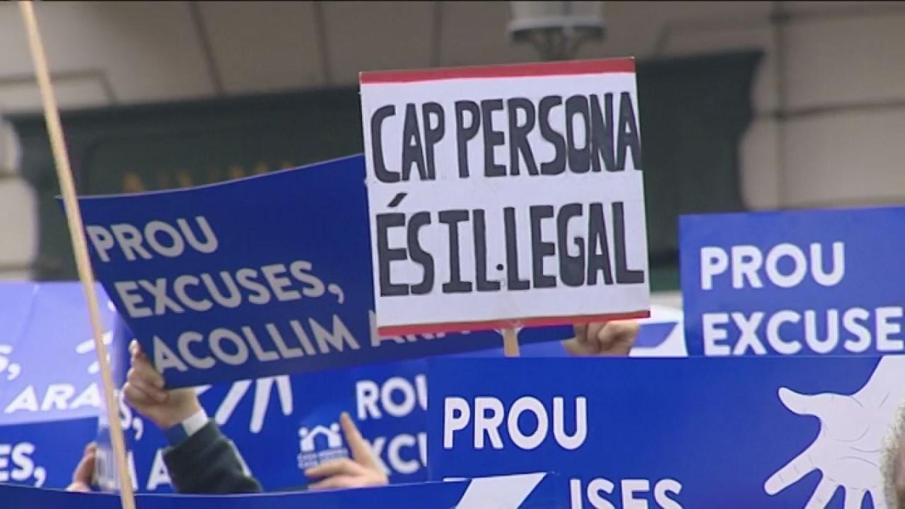 160.000 διαδηλωτές στη Βαρκελώνη υπέρ της υποδοχής προσφύγων στην χώρα