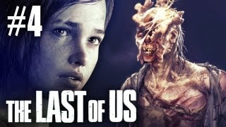 The Last of Us - Part 4 - Walkthrough / Playthrough / Let's Play - The Clicker Zombies!