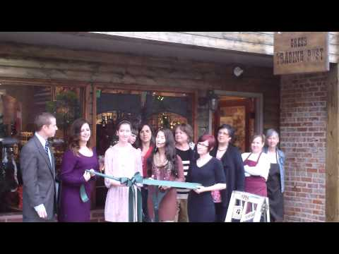 Greer Trading Post Ribbon Cutting