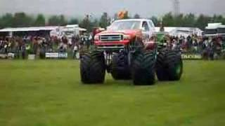 Oswestry United Kingdom  City pictures : MONSTER TRUCK Oswestry UK cz.1