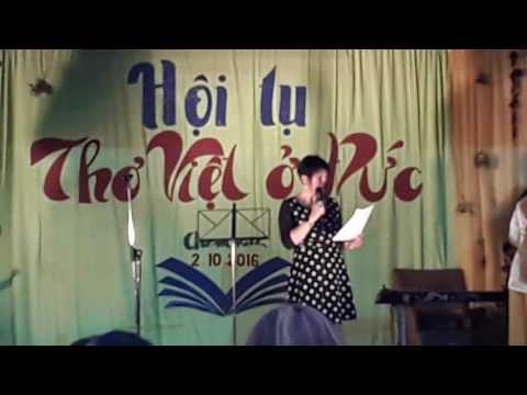 Hội tụ Thơ Việt ở Đức - An Giang (Berlin) đọc thơ