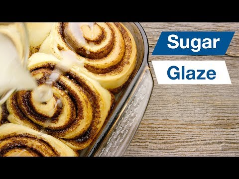Cinnamon Bun Sugar Glaze || Le Gourmet TV Recipes