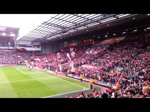 YNWA Liverpool Vs Oldham 05/01/13