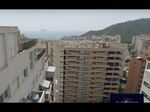 Total 113 300€! Penthouse FROM BANK in Benidorm with sea view - credit 70% - 500m from the sea