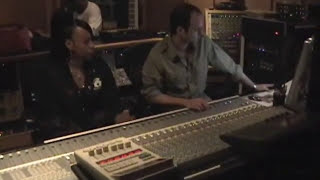 """DJ Cocoa Chanelle, Just Blaze, Saigon & DJ Scratch in the studio for """"Pain in my life"""""""