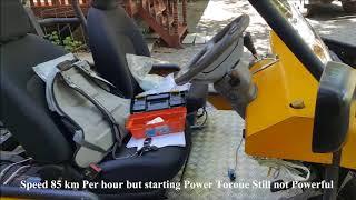 7. Electric UTV , small electric  car  ,  small size EV   battery 72v