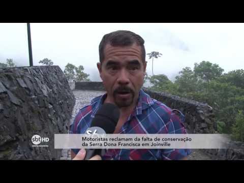 Falta de conservação preocupa motoristas na Serra Dona Francisca